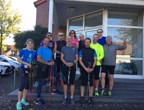 Erfolgreicher Abschluss zum Nordic Walking Instructor